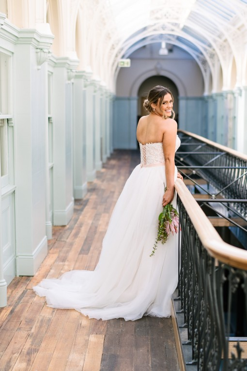 together alone PF361 photographer B back with tulle overskirt